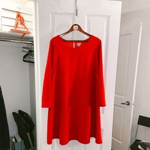 Gorgeous Red Swing Dress